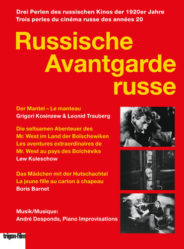 Russische Avantgarde (3er DVD Box- trigon edition)